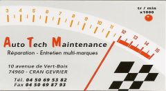 A.T.M Auto Tech Maintenance Tél. : 04 50 69 53 82